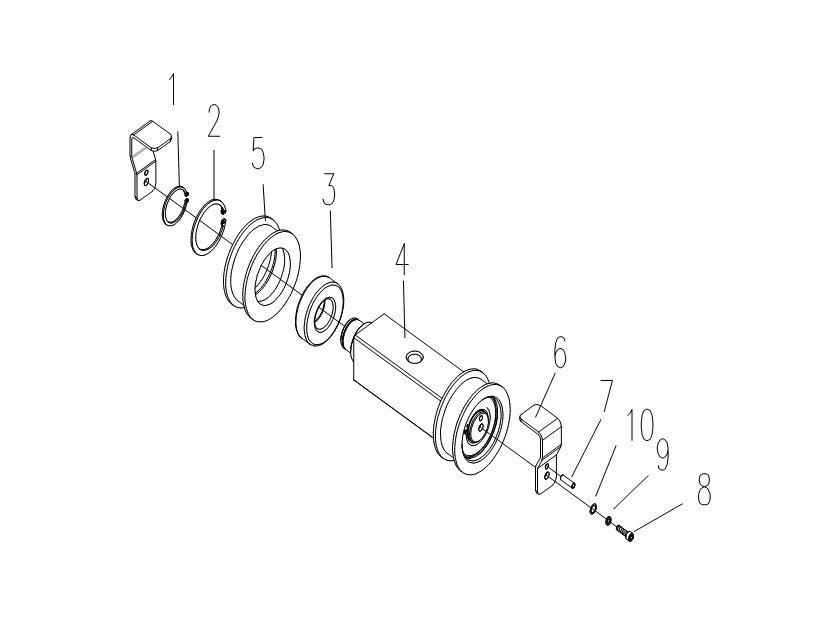 Схема блока цепи