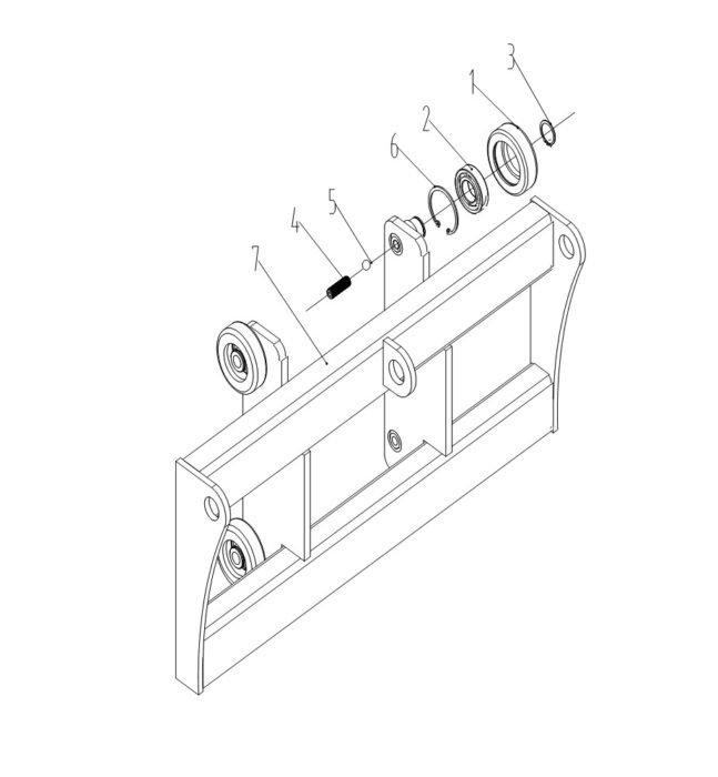 Схема каретки Xilin CDD15B