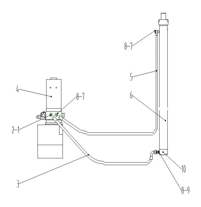 Схема гидравлической системы Xilin CDD15B