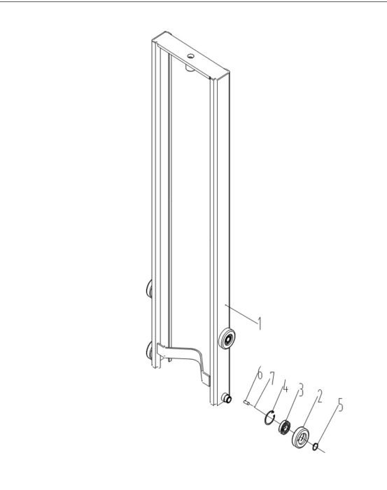 Схема мачты Xilin CDD15B