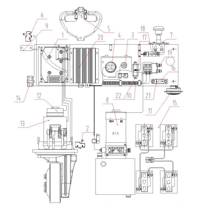 Электрическая схема Xilin CDDR15-II